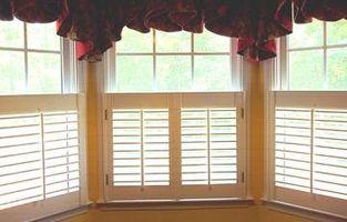 Comment nettoyer Windows lorsque vous avez Volets Plantation
