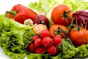 De manière étrange à cultiver des légumes