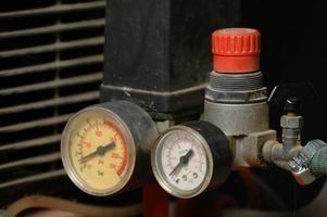 Instructions pour Comment tuyaux un compresseur d'air