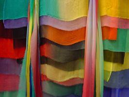 Nettoyage Raw Silk Fabric