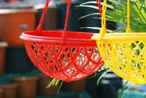 Comment accrocher Planters végétales