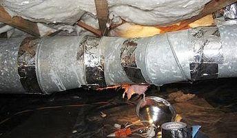 Comment Isolez les conduits de chaleur dans un espace sanitaire