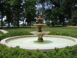 Comment Paysage avec une fontaine