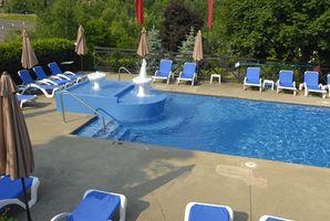Béton Pool Deck Finition bricolage