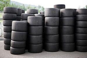 Comment est paillis Fait à partir de pneus?