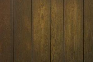 Comment peindre sur base d'huile Stained bois