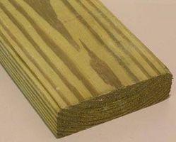 Comment peindre vert bois traité