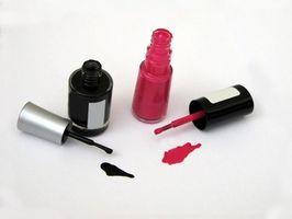 Comment faire pour supprimer vernis à ongles à partir de tissus