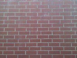 Comment nettoyer la peinture ou de mortier erreurs de brique