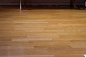 Comment faire pour supprimer flottant Wood Flooring