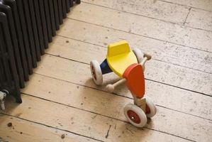 Comment remplir & Seal trous dans des planchers en bois