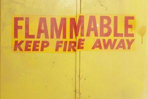 Peut liquides inflammables armoires de rangement être peint?