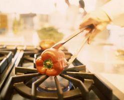 Comment nettoyer la GE Profile Cuisinière à gaz Cuisinière Pans & Grilles