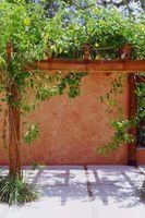 Comment construire un mur patio avec colombages de bois