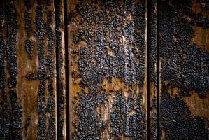 Comment nettoyer les meubles en bois après un incendie