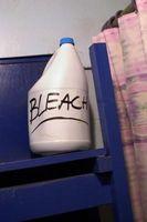 Combien Bleach devrais-je utiliser pour assurer la salubrité de l'eau potable dans une citerne?