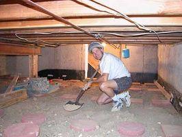 Comment creuser une Crawlspace