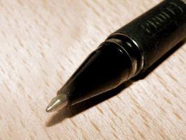 Comment obtenir stylo à bille encre de vêtements qui sont au sèche