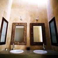 Rescellage Comptoirs de salle de bain