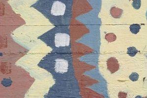 Comment décorer un mur de ciment Sous-sol