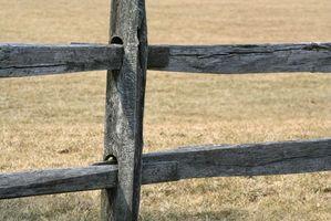 Comment construire une clôture de Ranch