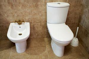 Comment faire pour supprimer calcaire qui se accumulent à partir d'une cuvette de WC