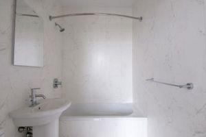 Comment faire pour supprimer des dépôts durs eau d'une douche