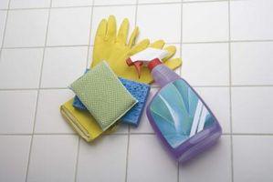 Guide de l'enfant à des produits chimiques ménagers