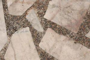 Granite décomposé Bordure