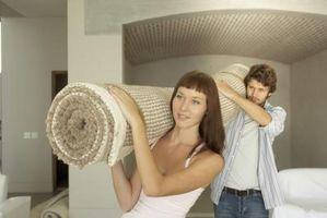 Comment obtenir les taches de laine tapis