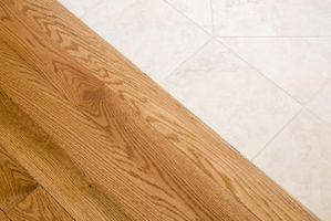 Comment faire pour mettre un plancher de bois franc sur un plancher de bois franc existant