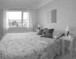 Idées rideaux pour une chambre blanche