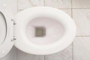 Comment niveau A Accueil toilettes sur plancher de tuiles