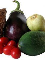 Légumes à la croissance dans l'Ouest de Washington