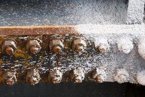 Produits chimiques utilisés pour enlever la rouille et la corrosion