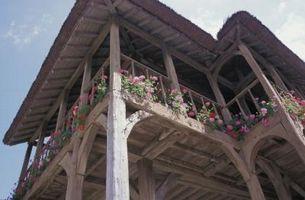 Comment: placage de pierre Porches Extérieur
