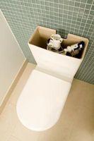 Comment arrêter une fuite d'eau dans un réservoir toilettes utilisant un liquide
