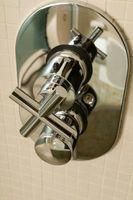 Comment faire pour installer une poignée Deux thermostatique de douche avec contrôle de volume
