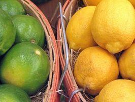 Comment planter des arbres de citron et de chaux