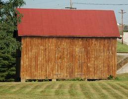 Comment construire un hangar de stockage de bois