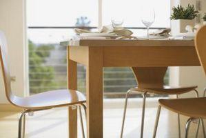 Comment se débarrasser des anneaux blancs sur une table en bois