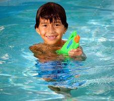 Comment utiliser du sel pour une piscine creusée dessus