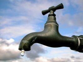 Comment réparer un robinet qui fuit Jardin