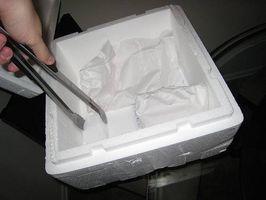 Comment Aliments-poste de la glace sèche